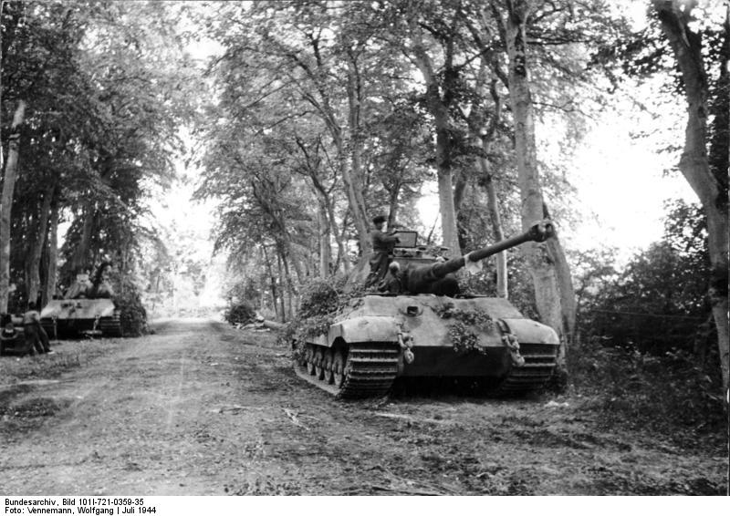 Canteloup, Panzer VI (Tiger II, Königstiger)