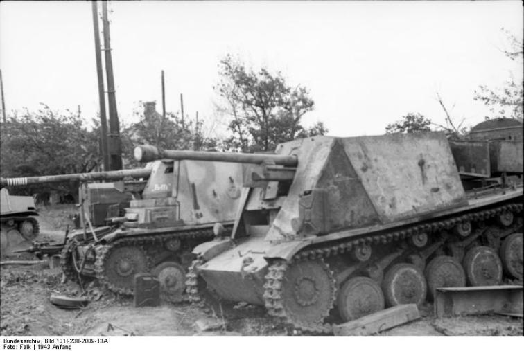 Russland, Umbau eines Panzer II