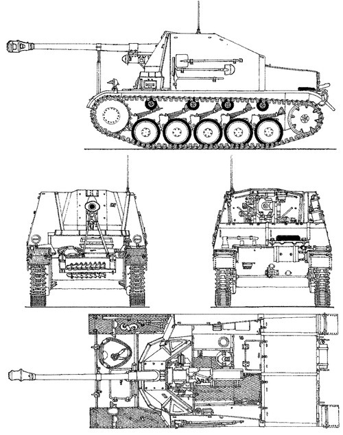 Sd.kfz. 131.(www.the-blueprints.com)