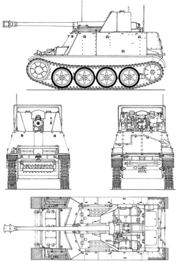 Sd.kfz. 132.(www.the-blueprints.com)