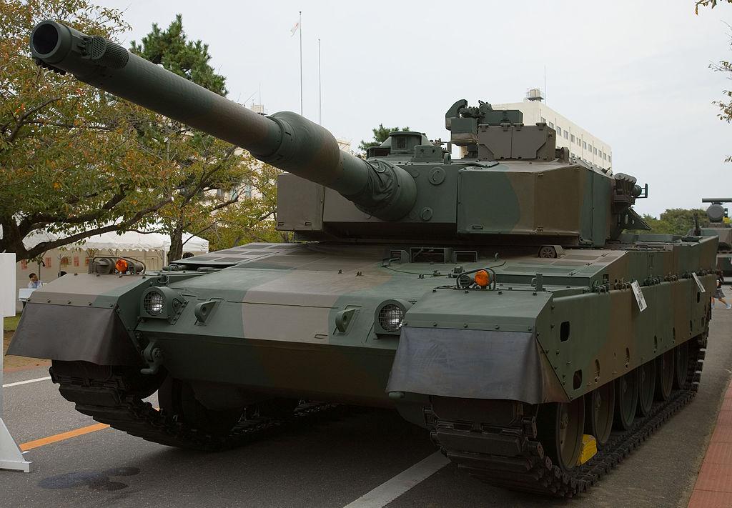 Japanese_Type_90_Tank_-_1