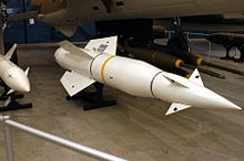 AGM-12C_Bullpup-B_missile_on_display_at_NMUSAF