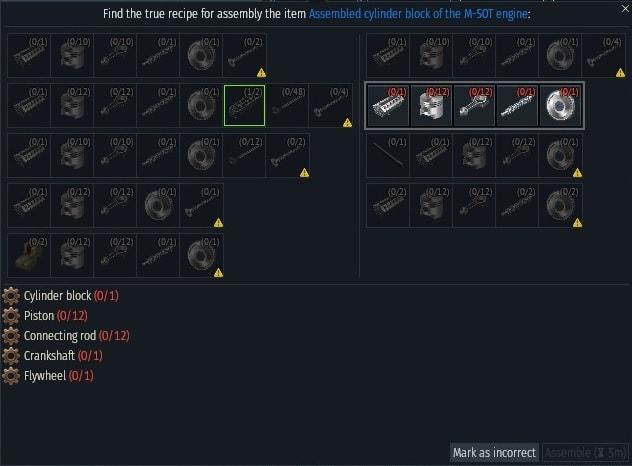 IS-7 motorblokk recipie-min