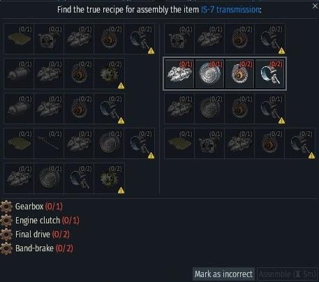 IS-7 valto recipie-min