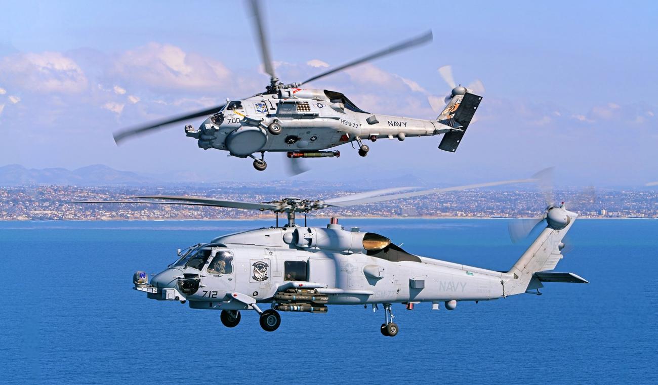 MH-60R-Flight