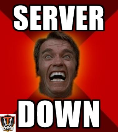 server down schwarz