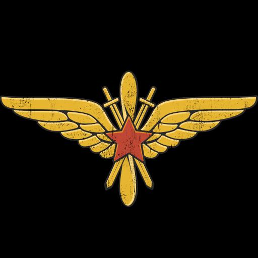 """""""""""A Vörös Hadsereg légierejének emblémája"""""""