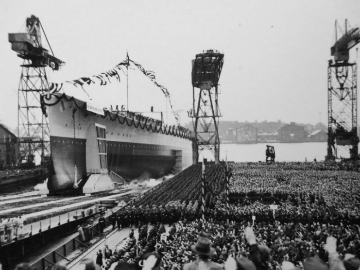 launch-of-the-scharnhorst-in-1936-741x556